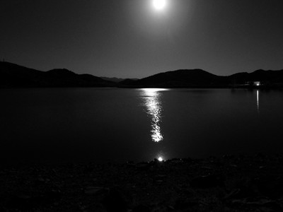 Moonlight Path and Lake Catchlight