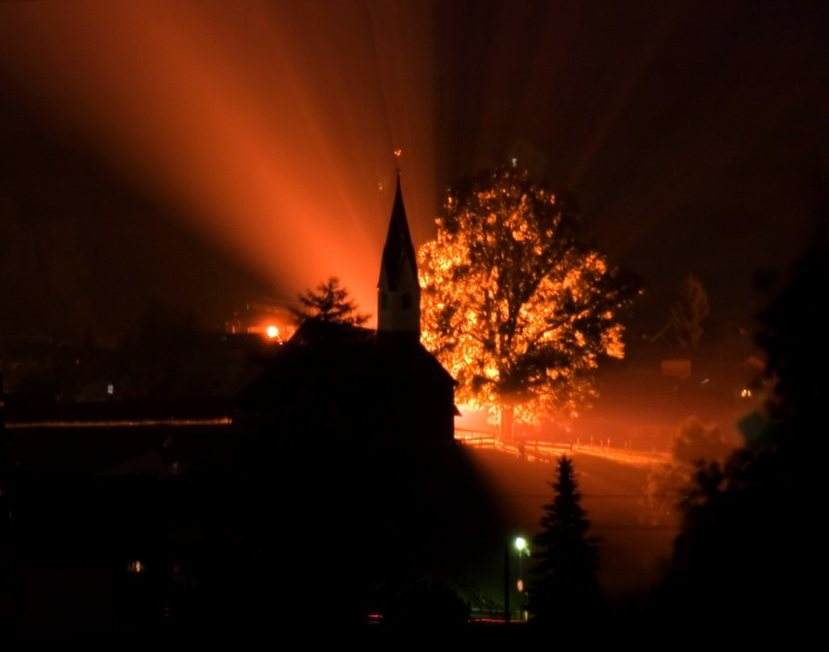 Taken during a storm over looking Bolsterlang in the Allgau region of Bavaria