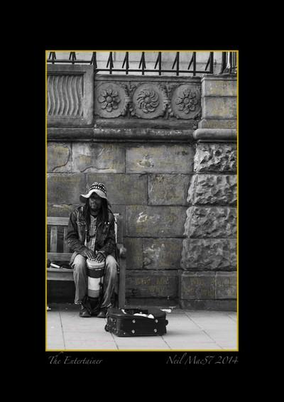 The Street Entertainer