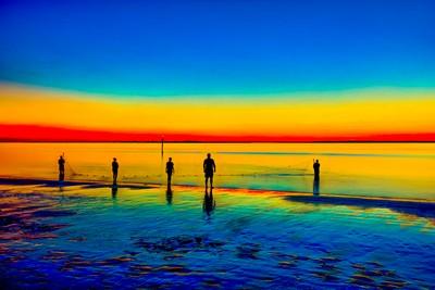 Fishing at Sunset 2