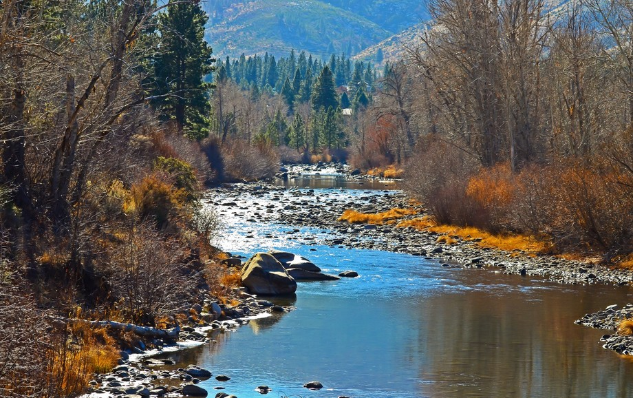 Truckee River near Verdi, Nevada