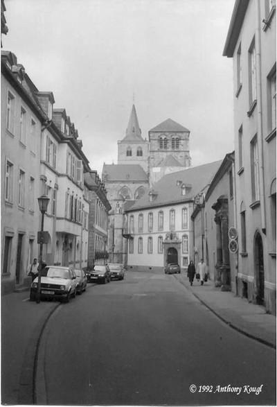 Trier, Germany B&W