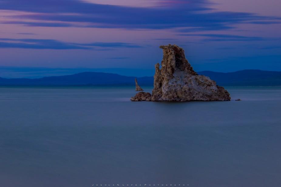The famous Mono Lake Tufa Towers