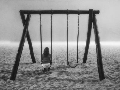 Melancolia em preto e branco (3)  -  Melancholy in black and white (3)