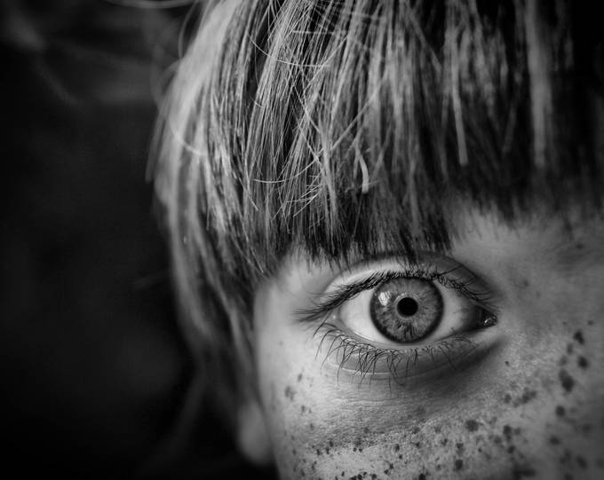 Eye by goldylookfleece - Freckles Photo Contest