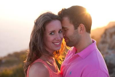 Pre-Wedding Sunset shoot at Dingli Cliffs in Malta