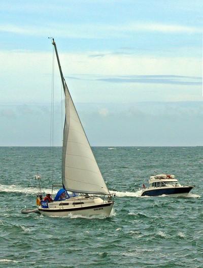 Sail versus engine