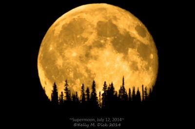 ~Supermoon, July 12, 2014~