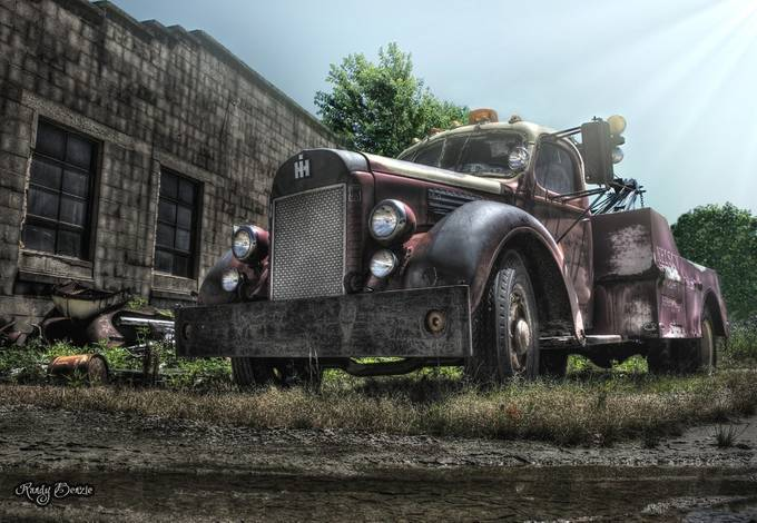 Old Tow II by randybenzie - Trucks Photo Contest