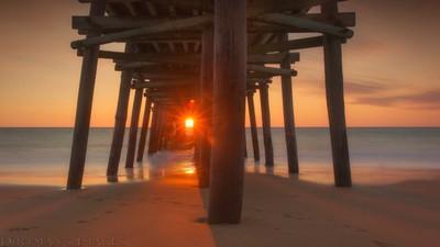 Awash in the sunrise