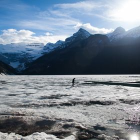Lake Louise, Rocky Mountains, Canada.