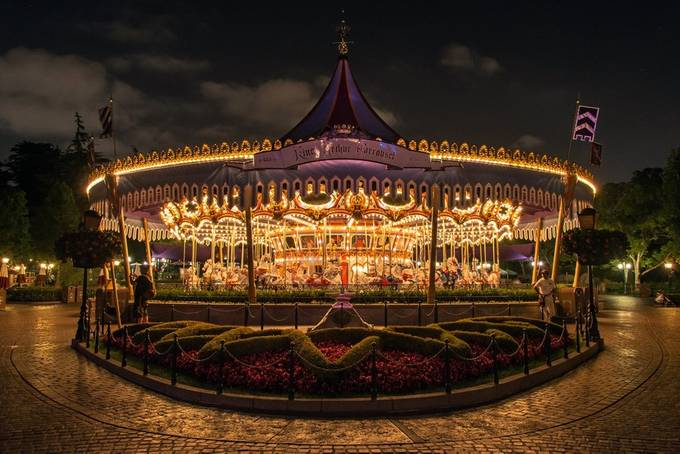 Midnight Carrousel by RichardReames - Our World At Night Photo Contest
