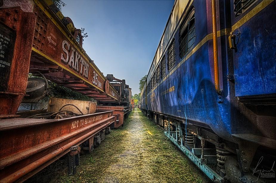 Train Vs Crane