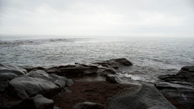 Monochromatic Day on Lake Superior