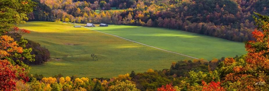 Fall in the Appalachian Smokies.