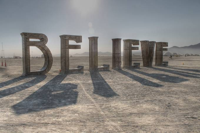 believe by jalinde - Letters And Words Photo Contest