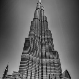 Dubai's iconic and spectacular Burj Khalifa, currently the world's tallest building.