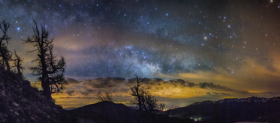 Starry night in Colorado