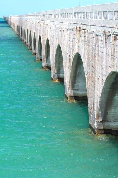 7 Mile Bridge. Florida Keys.