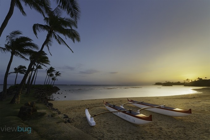 Outrigger Sunset by jasonmatias - Palm Trees Photo Contest