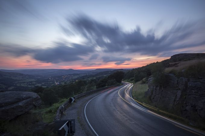 Sunset at Surprise view Derbyshire 1 by Bob-Riach - Curves And Compositions Photo Contest