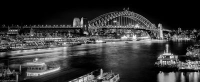 Sydney Harbour in Black and White