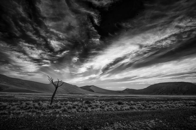 Soussosvlei by Pointomega - Awesomeness In Black And White Photo Contest