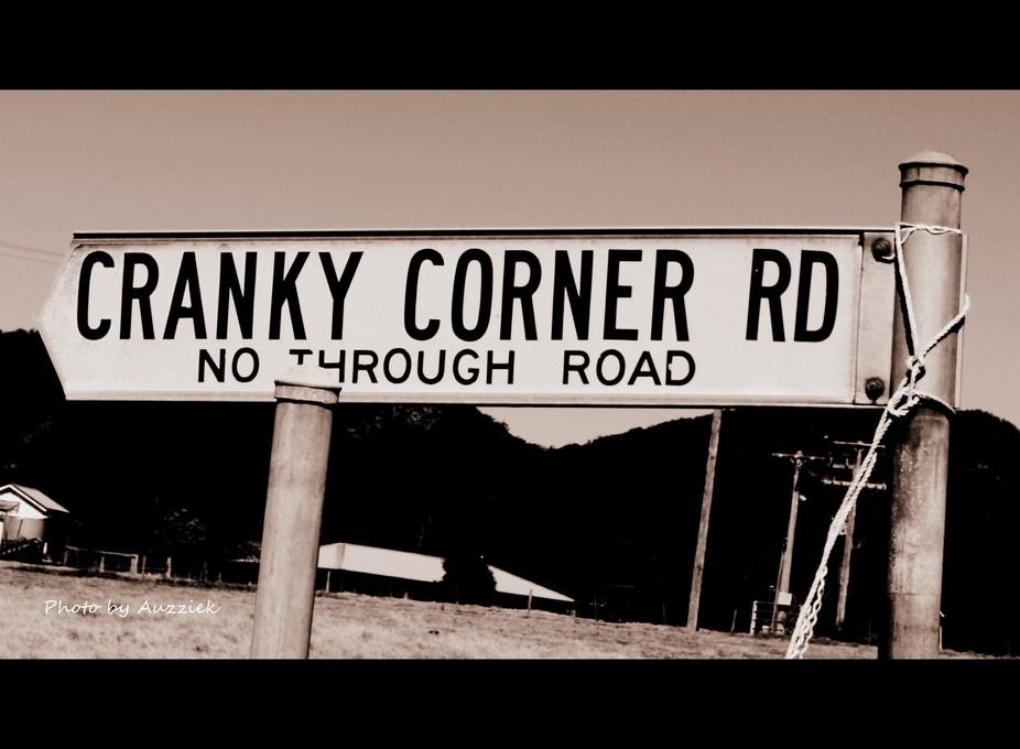 Cranky sign