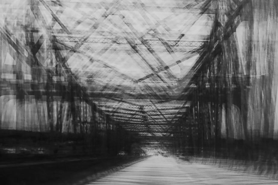 Deploying camera movement to mystify the bridge.