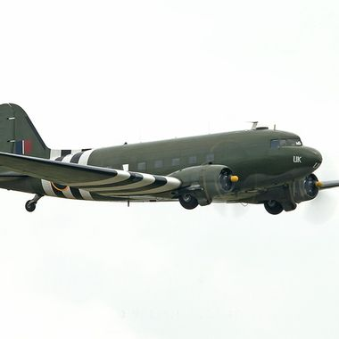 DC3 of the Royal Air Force