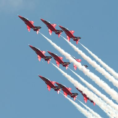 The Royal Air Force Red Arrows