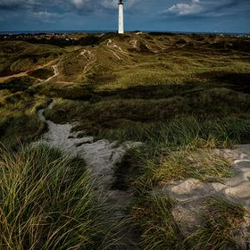 A lighthouse at the Danish west coast.