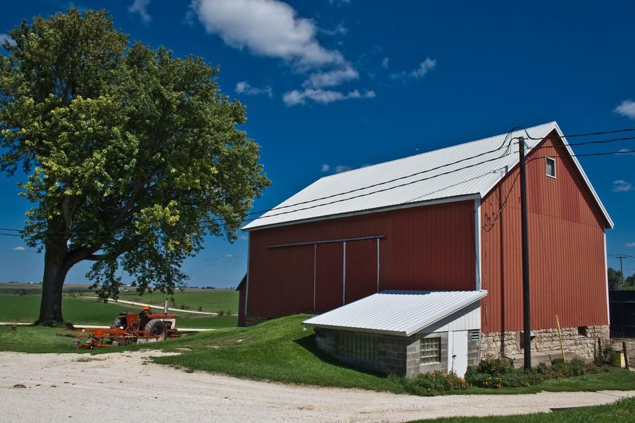 Dairy Farm in Iowa