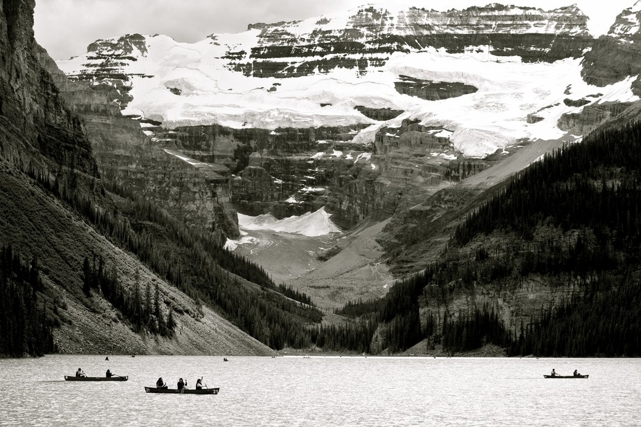 Taken in Lake Louise, Alberta, Canada.