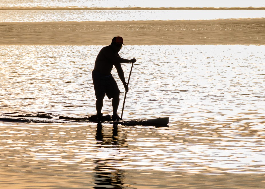 Paddle-Board at sunset...
