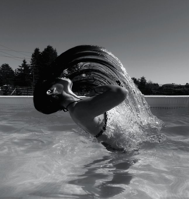 Pool Party Experimentation 2 by epicsaxman - People and Water Photo Contest
