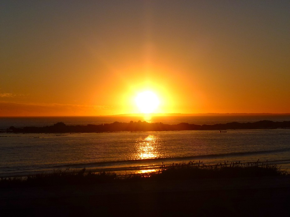 Sun set South Africa