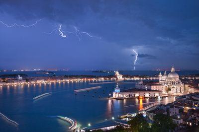 Heavy Thunderstorms over Venice