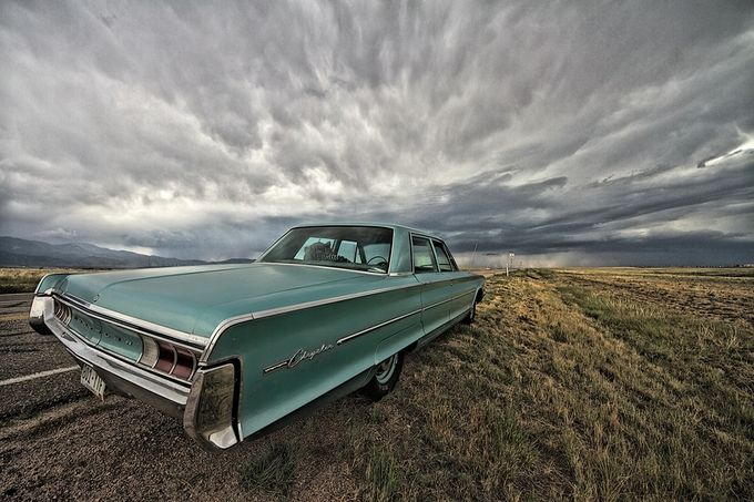 Ole School by Dollarshots - A Storm Is Coming Photo Contest
