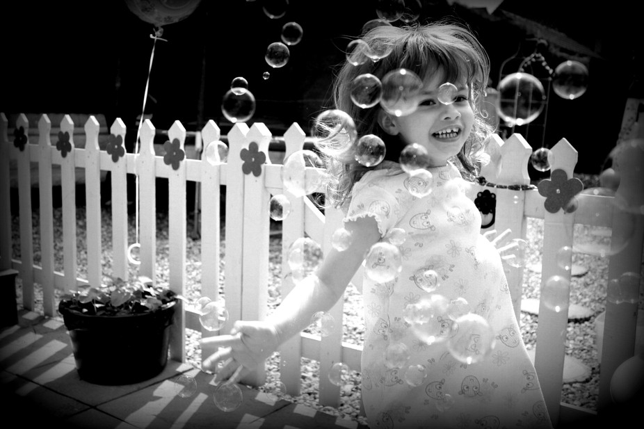 DANCING WITH THE BUBBLES
