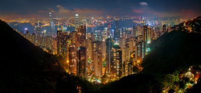 Midnight in Hong Kong