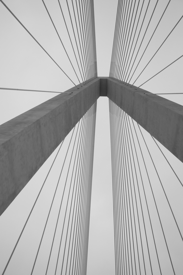 Bridge tower by austinlawler - Parallel Compositions Photo Contest