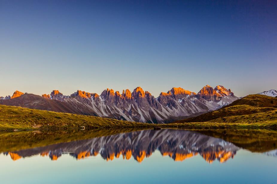 Mirror of Kalkkoegel / Tyrol