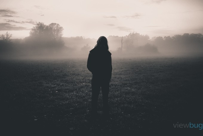 Alone in the Mist by maryannwamboldt - A Walk In The Mist Photo Contest