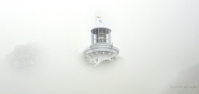 Sugarloaf Lighthouse Mist by SandroRossiImagery - Lost In The Fog Photo Contest