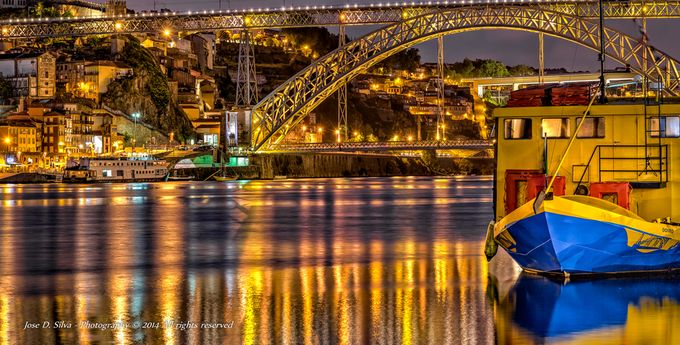 Reflexos do rio Douro by photozmsjosedsilva - HDR Photography Contest
