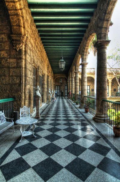 Hallway of Palacio de los Capitanes Generales