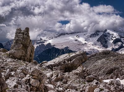 Marmolada Glacier
