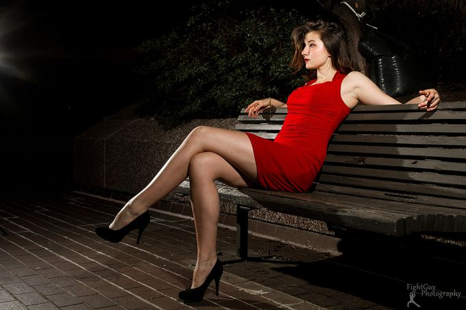 Red Dress: Emily (Preview) by FightGuyPhoto - Cool Shoes Photo Contest