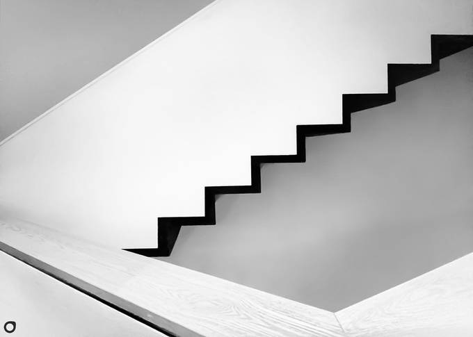 Stairs by dbau - Black And White Compositions Photo Contest